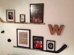 Brilliant Bedroom Ideas Hockey  On Inspiration - Boys hockey bedroom ideas