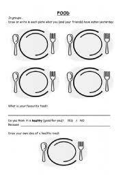 english teaching worksheets food quiz