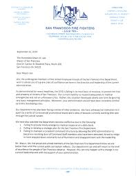 Bell Captain Cover Letter San Francisco Fire Fighters