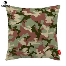green brown gray cool military camouflage print custom decorative