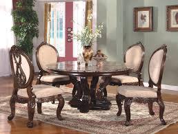 elegant formal round dining room sets formal dining room sets