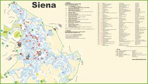Map Venice Italy by Siena Maps Italy Maps Of Siena
