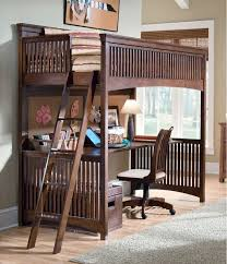 Single Bunk Bed With Desk Bunk Bed With Office Underneath Interior Design