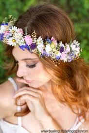 wedding flower hair dried flower hair wreath bridal wedding flower crown pink halo