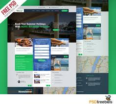 free templates for hotel brochures hotel and resort booking website template free psd psdfreebies com