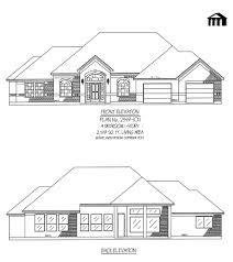 Awesome One Story House Plans One Floor House Plans Picture Simple Four Bedroom Awesome In Ghana