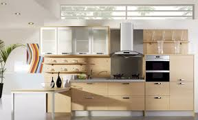 kitchen engaging modular kitchen design ideas with brown color
