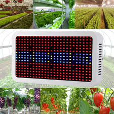 400 leds grow lights full spectrum 400w indoor plant lamp for