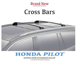 2013 honda pilot crossbars genuine oem honda pilot cross bars 2016 2017 crossbars 08l04