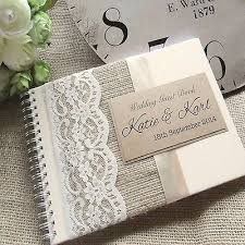 wedding guest book 25 best personalised wedding guest book ideas on