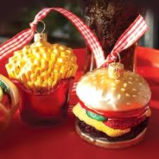 ornaments to remember fast food ornaments