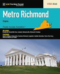 Richmond Va Zip Code Map by Richmond Va Metro Atlas Adc The Map People Adc The Map People