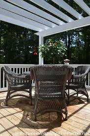 Deck With Patio by Staining Your Deck