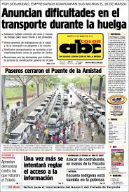 newspaper abc color paraguay newspapers paraguay tuesday u0027s