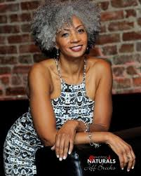 how to wear short natural gray hair for black women mildred from new jersey silver natural style icon natural gray