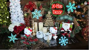 christmas decorating michael u0027s crafts holdiay decor haul youtube