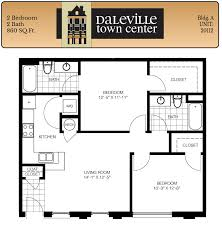 two bedroom apartments at daleville town center
