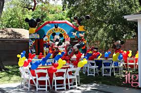 mickey mouse birthday party ideas mickey mouse birthday party ideas bounce house rentals in miami