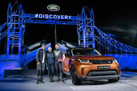lego land rover new land rover discovery sport debut on lego tower bridge just
