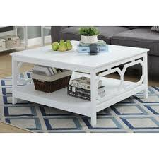 Rounded Edge Coffee Table - square coffee tables you u0027ll love wayfair