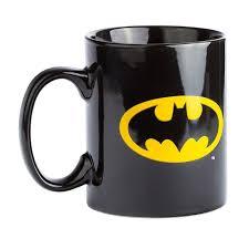 batman official dc comics retro logo ceramic coffee mug