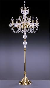 Chandelier Standing Lamp by Standing Chandelier Floor Lamp Luxury Home Decorations How To