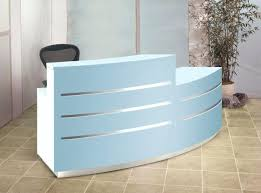 Curved Reception Desk For Sale Curved Reception Desk Curved Evolution Eclipse Reception Desk With