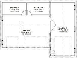 54x40 1 rv 3 car garage 54x40g1a 1944 sq ft excellent