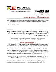 bunch ideas of sample offer letter format india for your template
