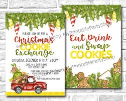 15 cookie exchange invitations glitter n spice