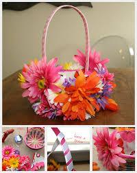Diy Easter Basket Floral Easter Basket