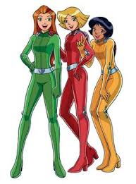 totally spies aka powerpuff girls grown funny