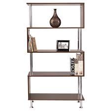 amazon com tangkula barnes modern bookcase wooden bookshelf