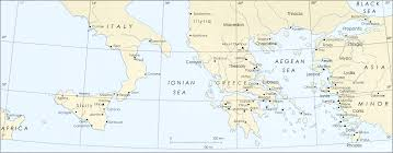 blank map of ancient greece map of ancient