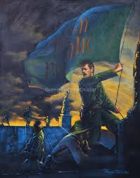 Surrender Flag Gif Raising Of The Irish Republican Flag U0027 By Norman Teeling