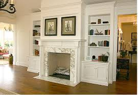 Fireplaces With Bookshelves by A Shingle Tour Velvet U0026 Linen