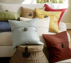 textured linen pillow covers from pottery barn best home shopping