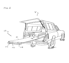 patent us6705656 pull out load platform for truck cargo beds