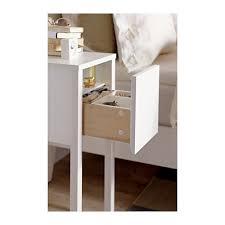 nordli bedside table white 30x50 cm nightstands bedside table