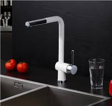 white kitchen faucet aliexpress buy 2015 pull out kitchen faucet white spray