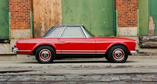 classic red mercedes cars we love mercedes benz sl pagoda classic driver magazine
