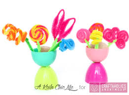 Easter Decorations With Plastic Eggs by Craftaholics Anonymous Kid Friendly Spring Flower Vases