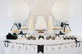 modern baby shower themes modern black and white baby shower baby shower ideas themes