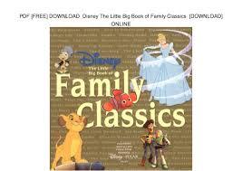 pdf free download disney big book family classics u2026