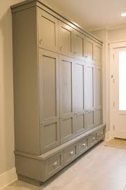 mudroom lockers four chairs furniture mudrooms pinterest