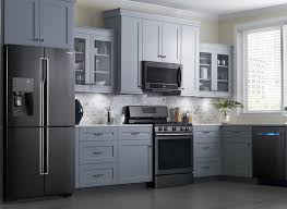 Grey Cabinets In Kitchen Will Black Stainless Steel Finish Off Stainless Gray Cabinets