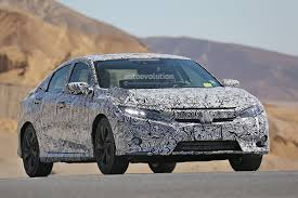 2017 honda civic sedan spyshots next gen 2017 honda civic sedan interior revealed new