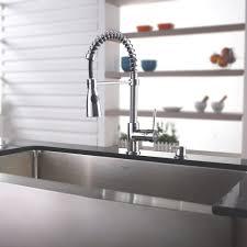 Kraus Kitchen Faucets Interior Kraus Kpf1612ksd30ch Single Lever Spiral Kitchen