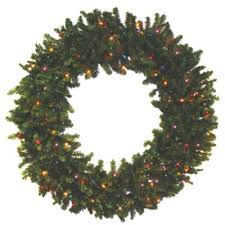 buy 24 pre lit battery operated wreaths from bed bath beyond