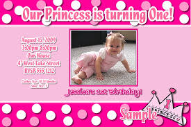 example of first birthday invitation card infoinvitation co